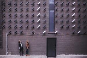 Security cameras demonstrating Pareto's HITRUST certification