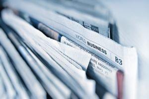 Newspaper representing CMS 2019 Medicare Advantage Final Call Letter announcement