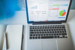 Analytics dashboard representing the 2018 ACA risk adjustment interim report analysis