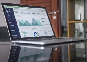Analytics dashboard representing data on the 2019 Medicare Advantage competitive landscape